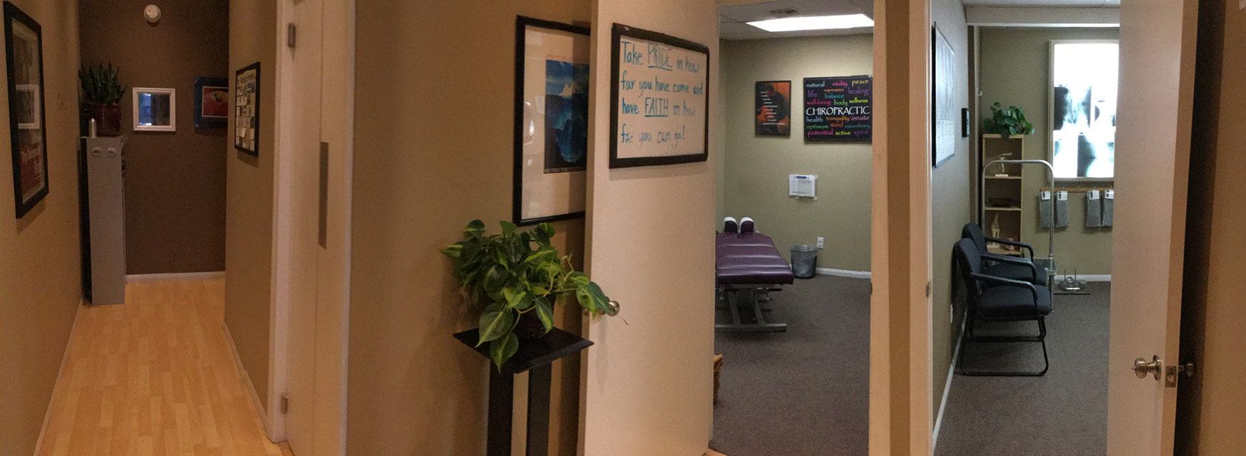Image of San Diego Chiropractic and Massage patient rooms
