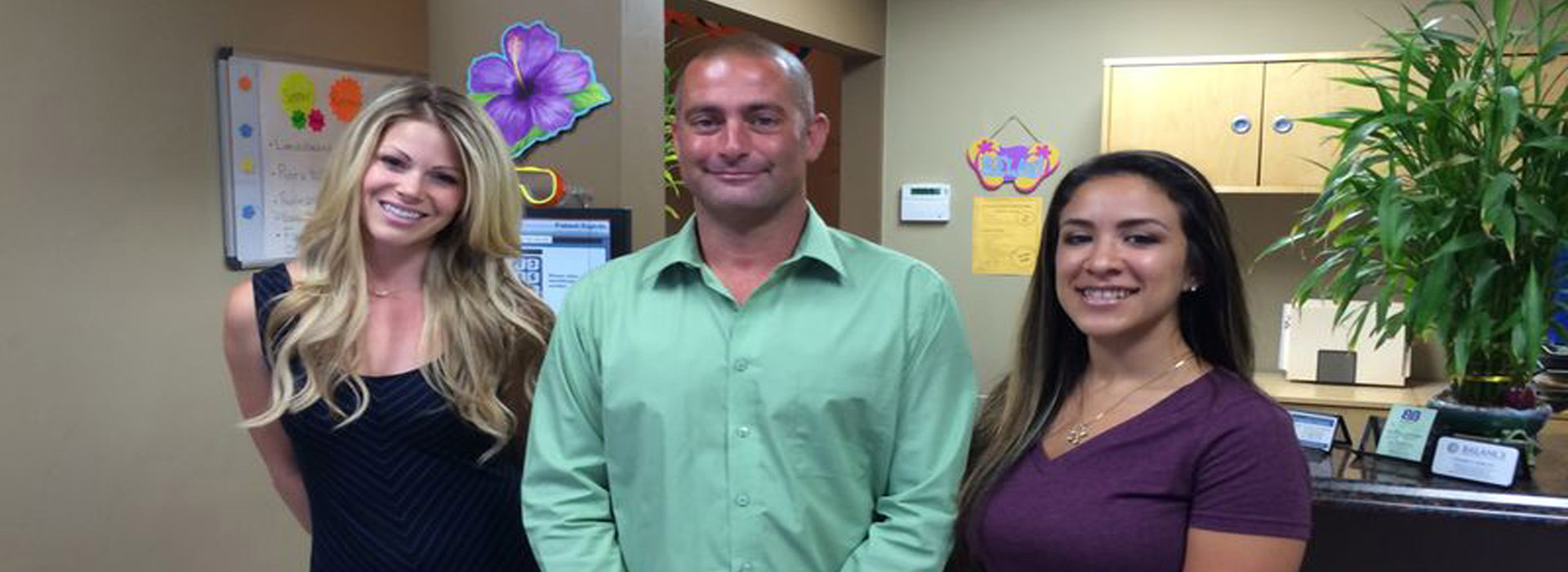 San Diego Chiropractic & Massage Center office staff image